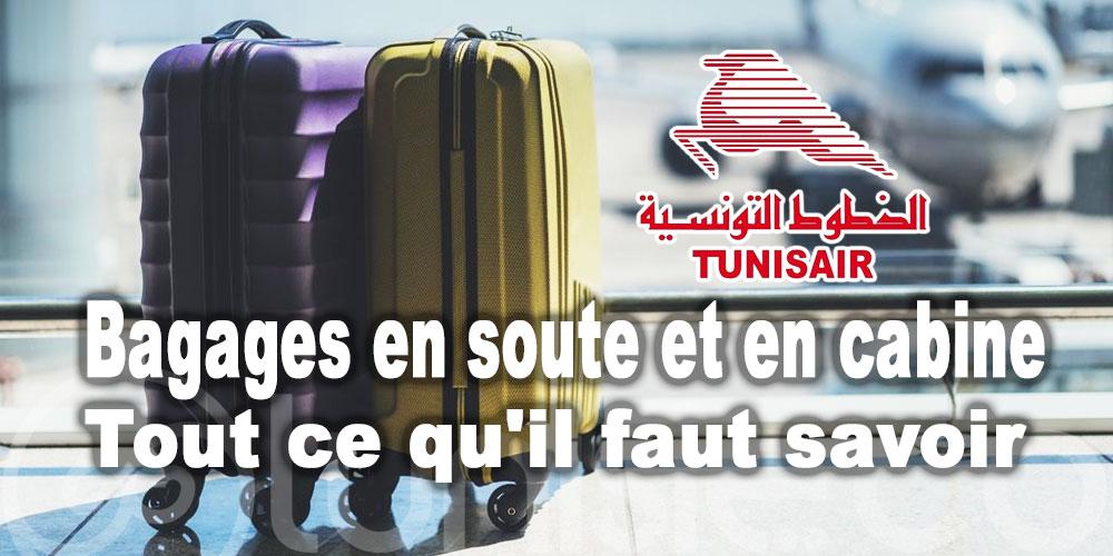 Tunisair : Bagages en soute et en cabine: tout ce qu'il faut savoir