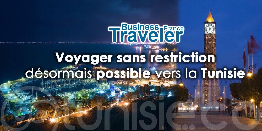 Business Travel : Voyager sans restriction désormais possible vers la Tunisie