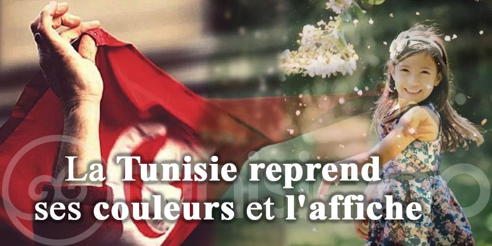 La Tunisie reprend ses couleurs et l'affiche
