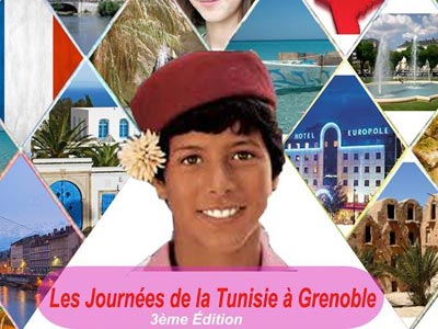 3ème édition des journées de la Tunisie à Grenoble du 11 au 13 Mai