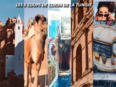Les 5 coups de coeur de la Tunisie à découvrir selon la blogueuse Marie Frayssinet
