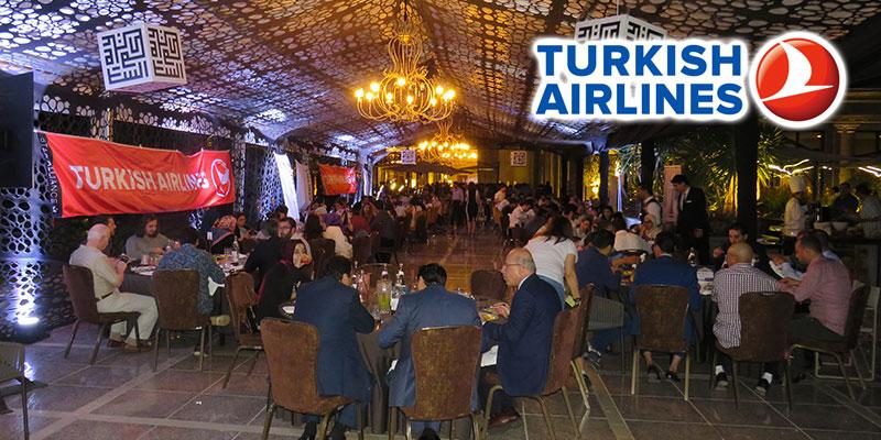 En photos : Turkish Airlines réunit ses partenaires autour d'un Iftar