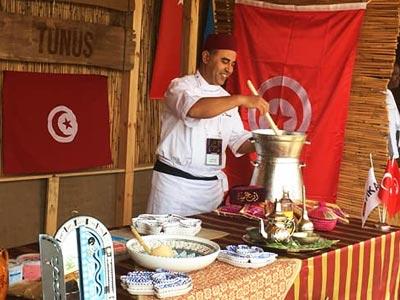 En vidéo : Le Borzguène keffois au festival Des Saveurs du Monde en Turquie