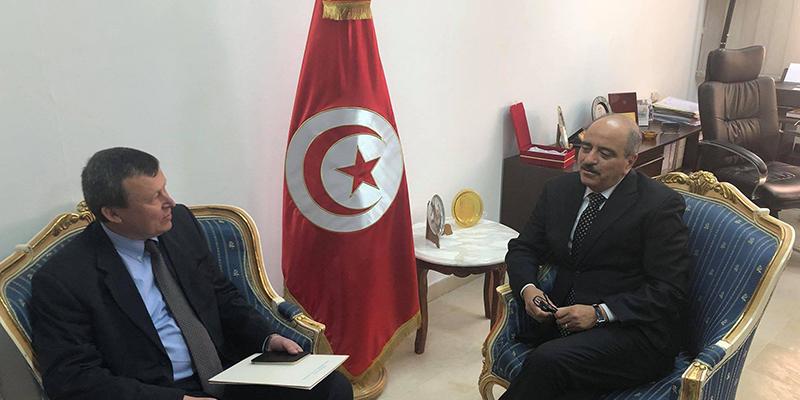 سفير أوكرانيا يتدارس فرص تطوير السياحة في تونس