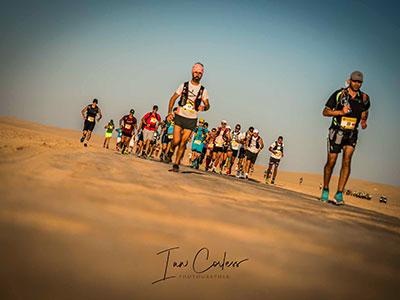 90 coureurs à l'arrivée des 100 Km de l'Ultra Mirage El Djerid