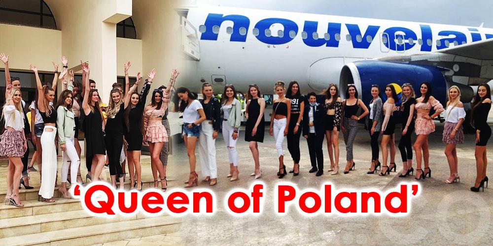 En photos : Djerba accueille les 14 prétendantes au titre de ''Queen of Poland''