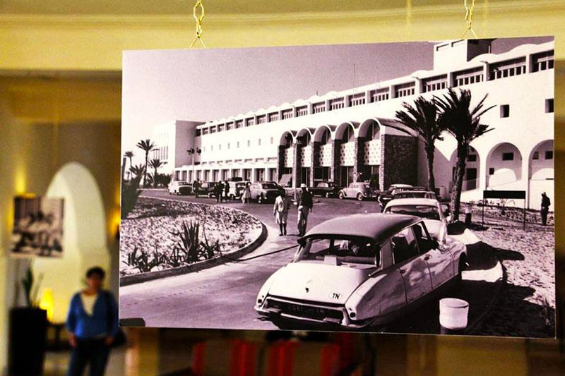 Expo photo du 55ème anniversaire du Radisson Blu Ulysse Djerba