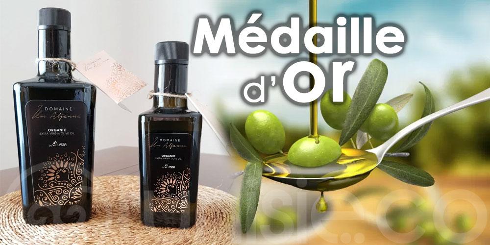Une nouvelle médaille d'or pour l'huile d'olive tunisienne à l'international