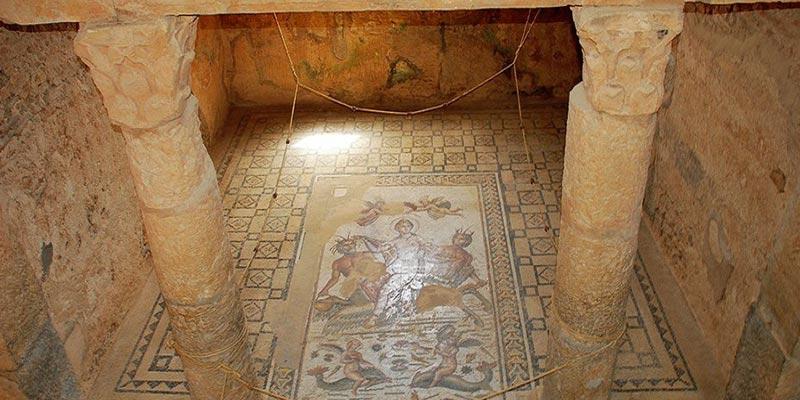 En photos : Aux mosaïques de Bulla Regia défilait un passé glorieux
