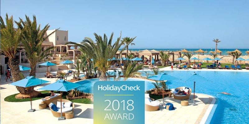 Les 5 Hôtels Les Plus Populaires à Djerba Selon Le Awards Holiday Check 2018