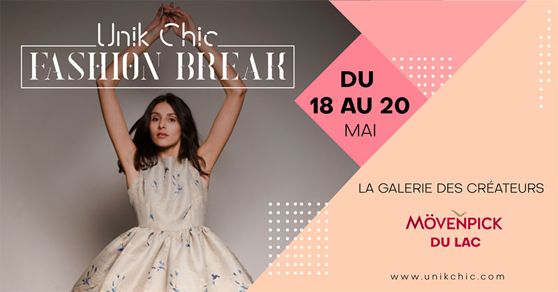 UnikChick Fashion Break le pop-up store au Mövenpick Hotel du Lac Tunis