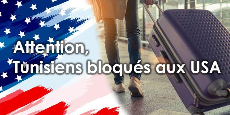 Tunisiens bloqués aux USA: Informations des prochains vols de rapatriement