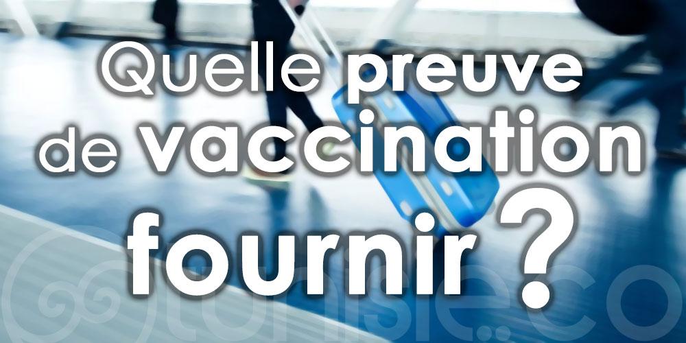 Voyages en Europe : Quelle preuve de vaccination fournir ?