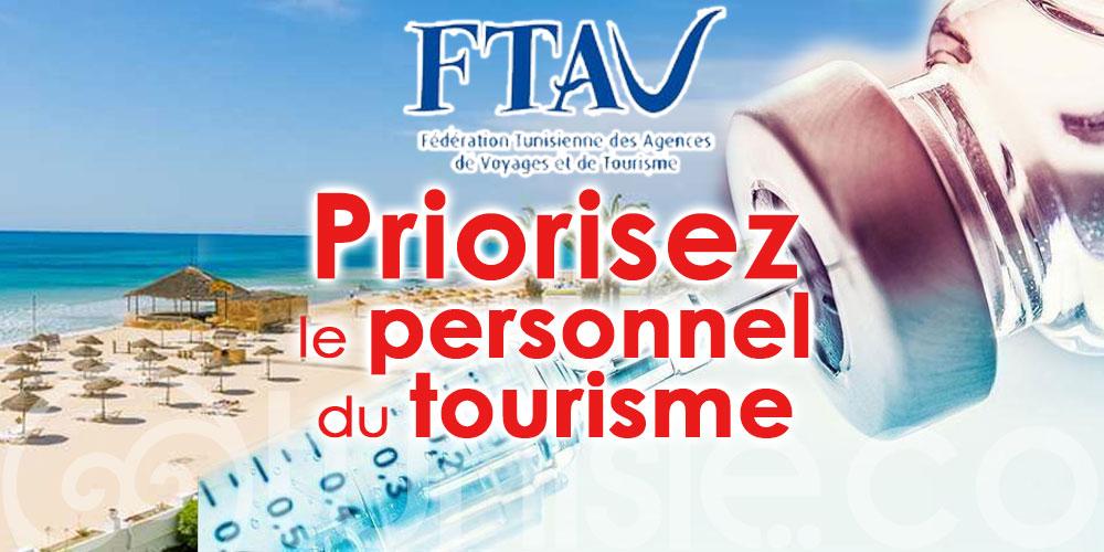 La FTAV appelle à prioriser le personnel du tourisme pour la vaccination