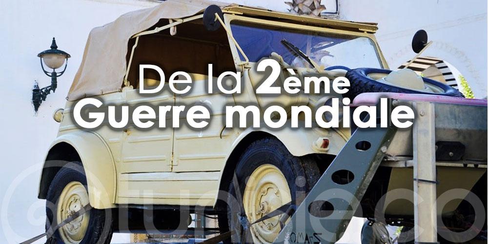 Le musée militaire de Mareth accueille un véhicule allemand de la 2ème Guerre mondiale
