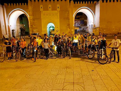 Le 3ème épisode de ' Tous à Vélo ' à Bab Diwan à Sfax