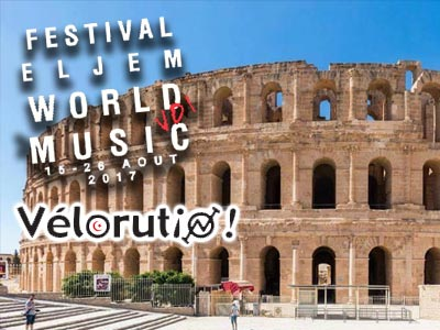 Le Festival El Jem World Music fête le vélo le 15 août