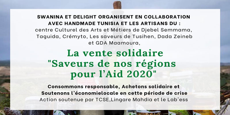 La vente solidaire 'Saveurs de nos régions pour l'Aid 2020'