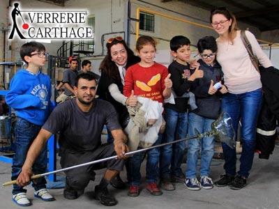 Bon plan famille : Découvrez avec vos enfants l'art du verre soufflé chez la Verrerie de Carthage