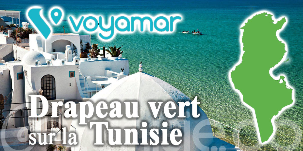 Voyamar : Drapeau vert sur la Tunisie