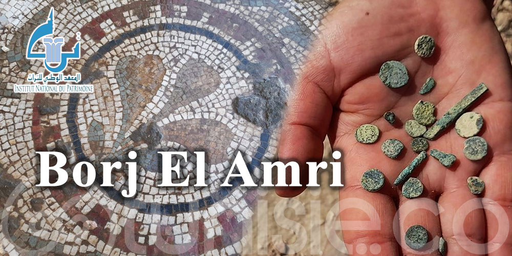 Découverte des vestiges archéologiques à Borj El Amri