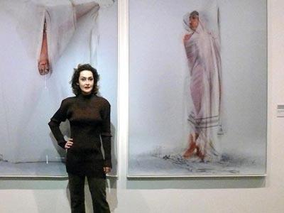 Pour célebrer la fête de l'indépendance tunisienne, l'artiste Meriem Bouderbala expose à Vienne