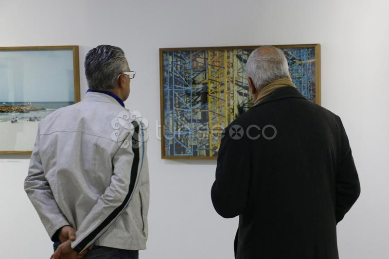 Vernissage de l'Expo Views of Tunisia