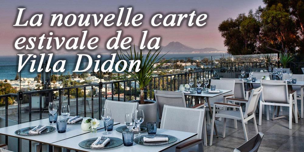 Découvrez la succulente Carte Estivale de la Villa Didon Carthage