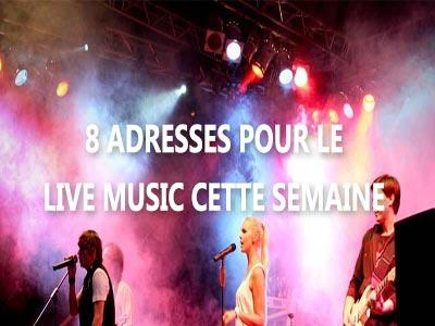 Oû vivre le live music cette semaine sur Tunis