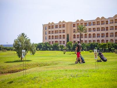 Les plus merveilleux terrains de golf d'hôtels en Tunisie