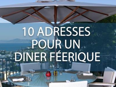 10 superbes adresses pour un dîner féerique sur Tunis
