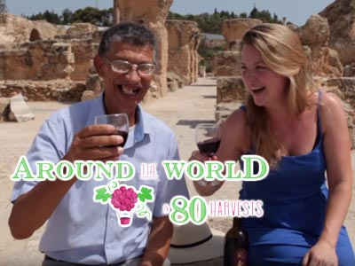 Les vins tunisiens charment 'Around the World in 80 Harvests' et 'The Squeeze Magazine'
