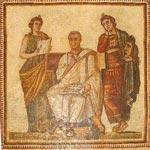 La mosaïque de Virgile fait sensation auprès des Italiens