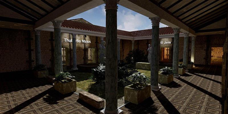 Reconstitution en 3D des sites archéologiques tunisiens à Londres