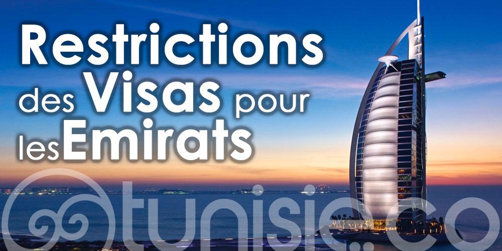 Les Emirats ne suspendent pas les visas pour les Tunisiens mais appliquent des restrictions