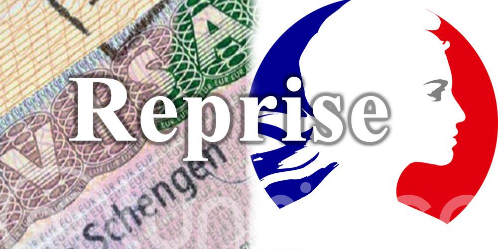 Ambassade de France: Reprise partielle de l'activité visas