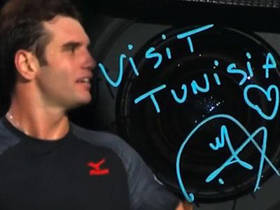 En vidéo : Visit Tunisia, le message de Malek Jaziri aux passionés de Tennis