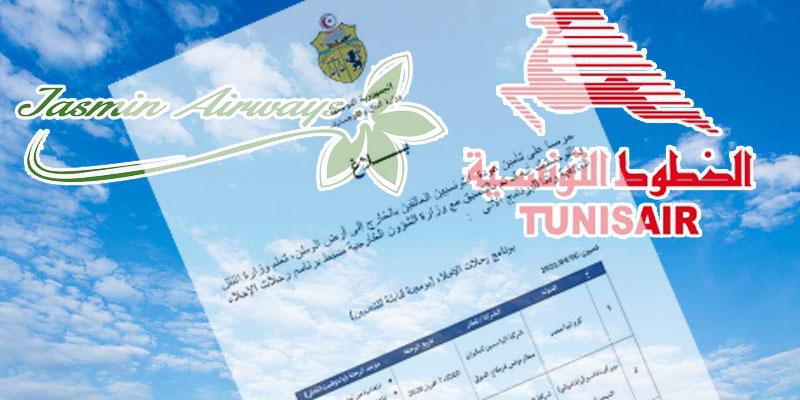 Ministère du Transport et de la Logistique: programme des vols de rapatriement des tunisiens bloqués à l'étranger