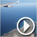 Vidéo de décollage à bord de Syphax Airlines depuis l'aéroport Tunis-Carthage