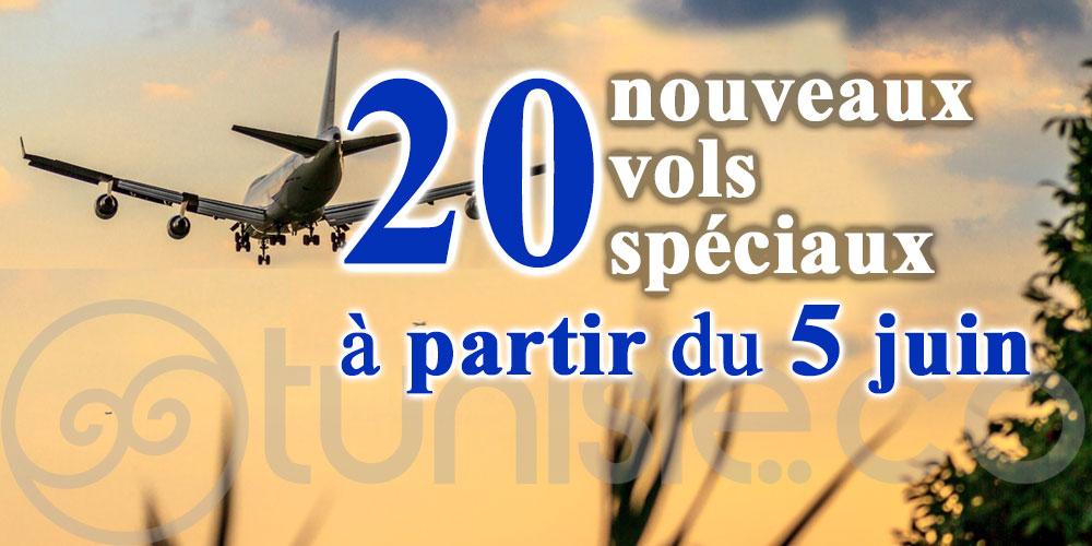 Ajout de nouveaux vols pour le rapatriement des Tunisiens bloqués à l'étranger