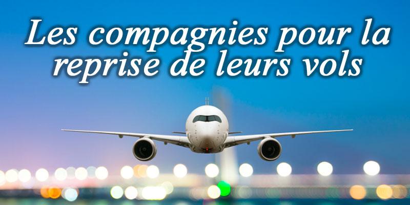 Les compagnies expriment leur désir de reprendre leurs vols réguliers sur la Tunisie