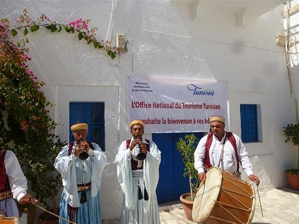 En photos visite promotionnelle de luxair tours djerba - Office de tourisme djerba ...
