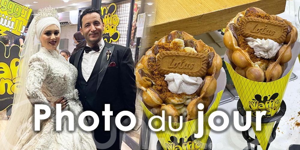 Photo du jour : Quand le romantisme et l'amour de pâtisserie se rencontrent