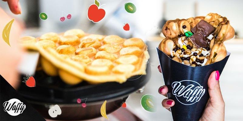 Les Bubble Waffles s'installent à Tunis avec WAFFY