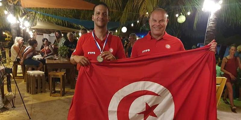 Le Tunisien Walid Boudhiaf médaillé à la coupe des Caraïbes d'apnée