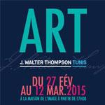 Expo annuelle de J.Walter Thompson Tunis à la Maison de l'Image le 27 février 2015