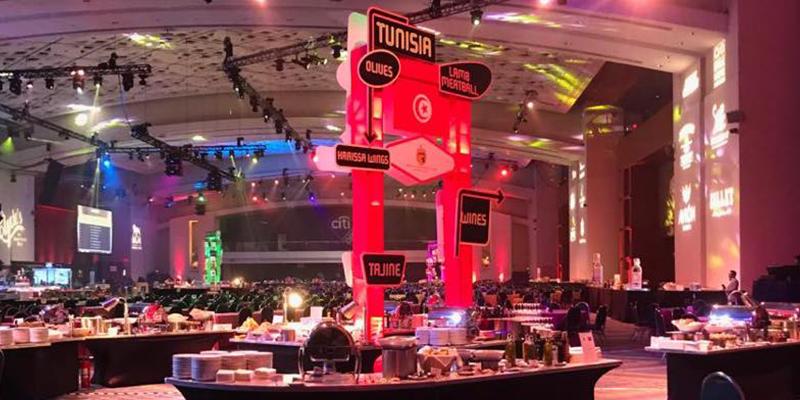 La cuisine tunisienne présente aux RAMMY Awards à Washington