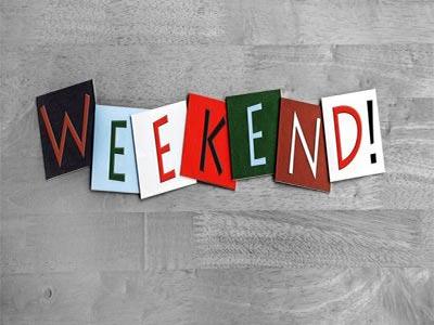 8 raisons pour sortir le weekend