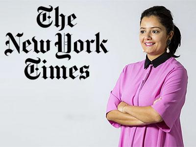 Selma Feriani, voix pour l'art d'Afrique du Nord et du Moyen-Orient selon le New York Times