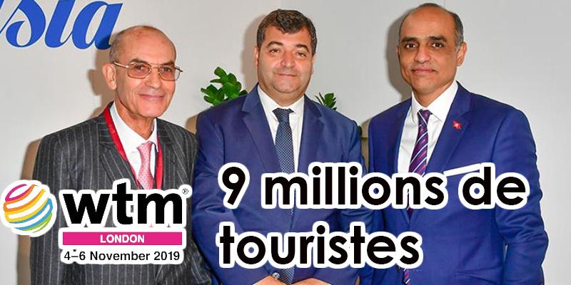WTM London 2019 : la Tunisie ambitionne toujours les 9 millions de touristes !